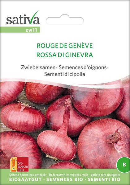 Zwiebelsamen ROUGE DE GENÈVE (demeter-Bio Saatgut PSR)