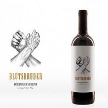 Blutsbruder 2016 - das Rotweincuvée vom Weingut Karl May - Rheinhessen