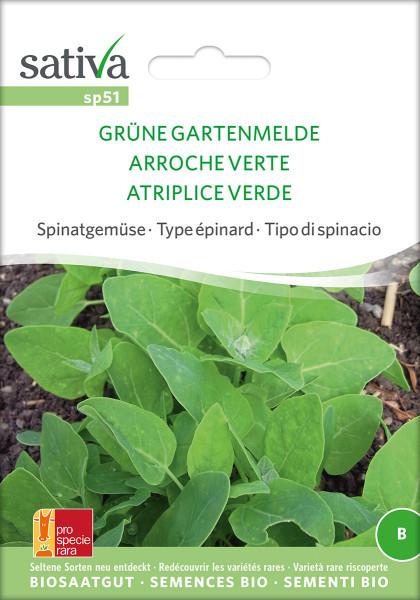 GARTENMELDE, Grüne (Saatgut PSR/demeter)