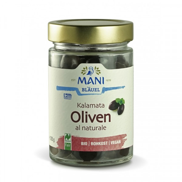 Mani Kalamata Oliven al naturale