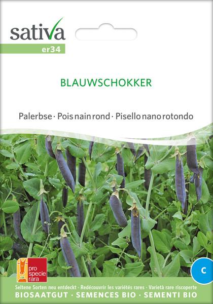 Palerbse BLAUWSCHOKKER (demeter-Biosaatgut/PSR)