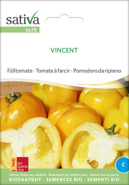 Tomate VINCENT (demeter-Sortenrarität/PSR)