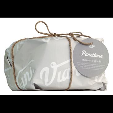 Panettone - Hefekuchen mit kandierten Maronen