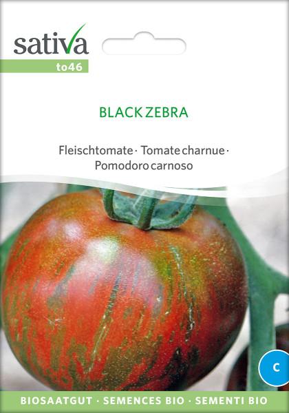 Tomate BLACK ZEBRA (demeter - Biosaatgut)