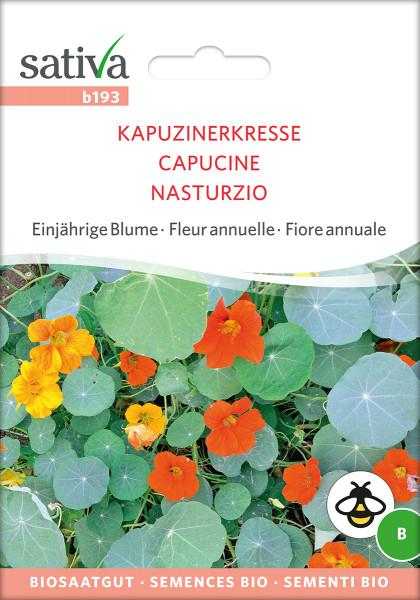 Kapuzinerkresse (demeter-Biosaatgut)