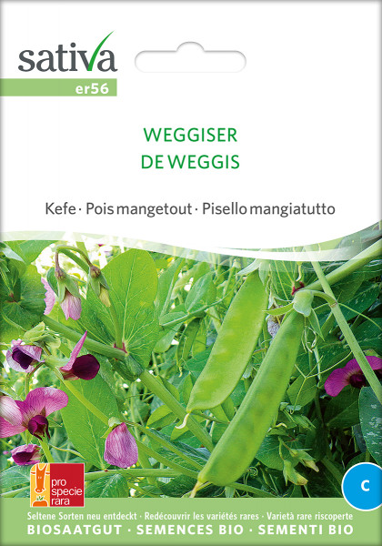 Zuckererbse 'WEGGISER' (Bio-Saatgut/PSR)