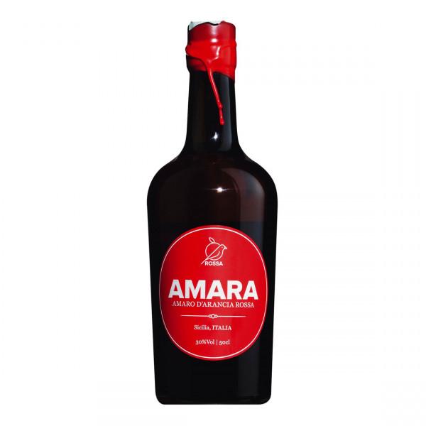 Amara - amaro d'arancia rossa, Bitterlikör aus sizilianischen Blutorangen