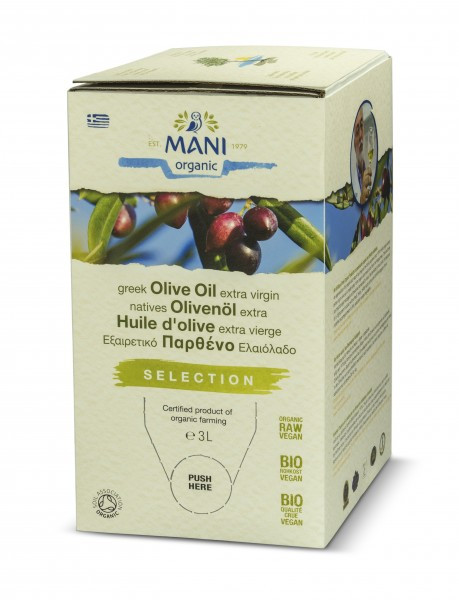 MANI - Koroneiki Olivenöl (bio) 3 l