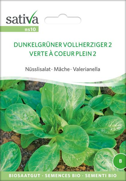 Feldsalat DUNKELGRÜNER VOLLHERZIGER (Biosaatgut)