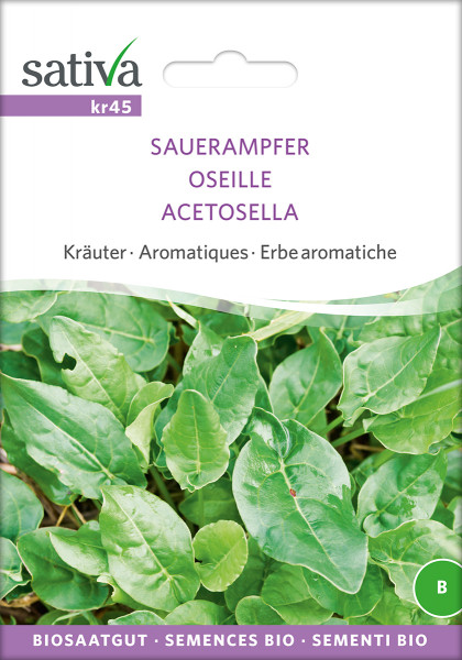 Kultursauerampfer (demeter-Biosaatgut)
