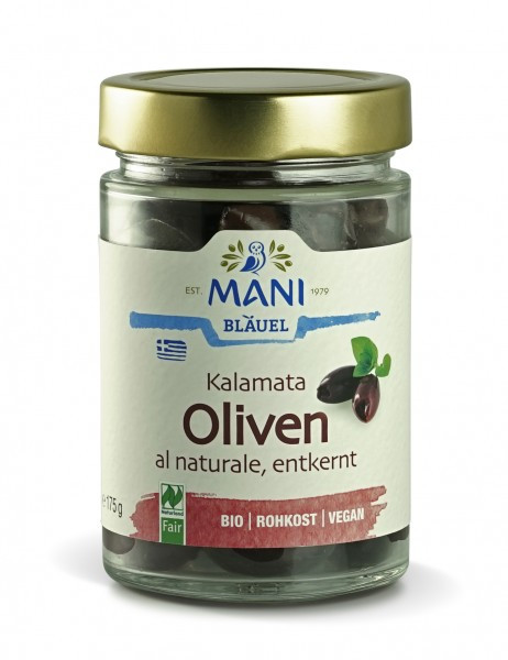 Kalamata Oliven al Naturale (bio)