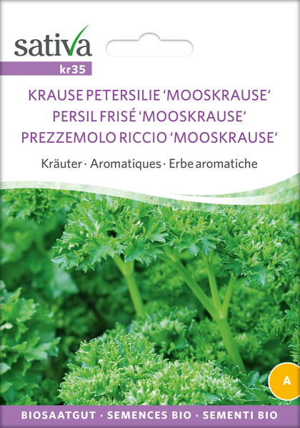 Petersilie MOOSKRAUSE (Bio-Saatgut)