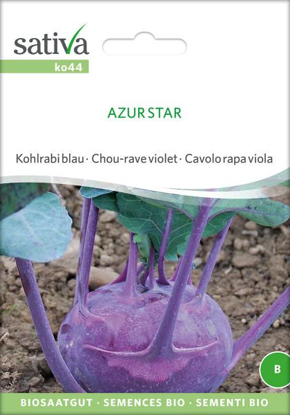 Kohlrabi 'AZUR STAR' (demeter-Biosaatgut)