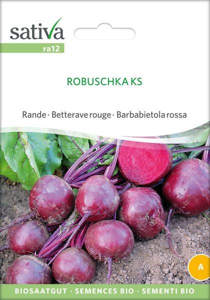 Rote Rüben 'ROBUSCHKA'