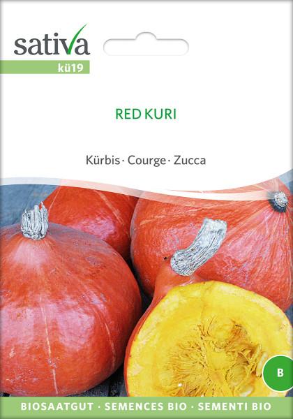 Kürbis 'RED KURI' (demeter)