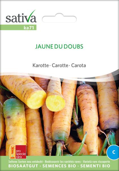 Karotten 'LONG JAUNE DE DOUBS' (demeter-Biosaatgut /PSR)