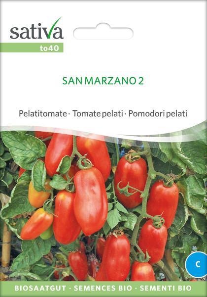 Tomate SAN MARZANO (demeter-Saatgut)