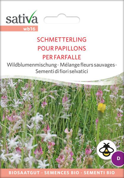 Wildblumenmischung SCHMETTERLING (Bio-Saatgut)