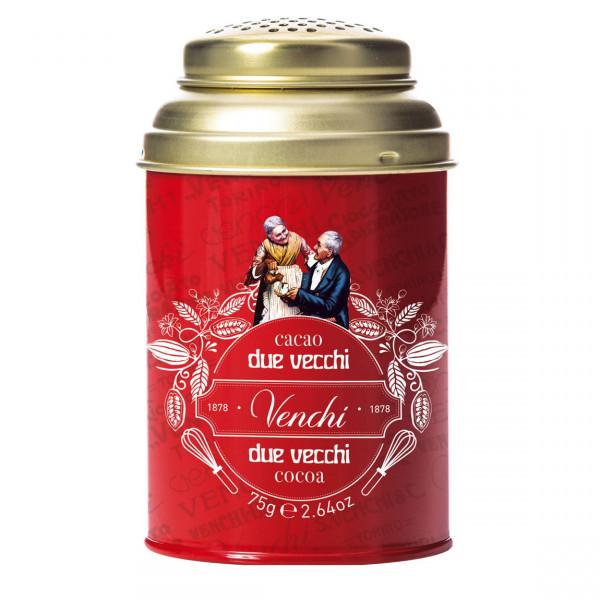 Kakaopulver in Streudose, Cocoa Sprinkler Tin, Venchi