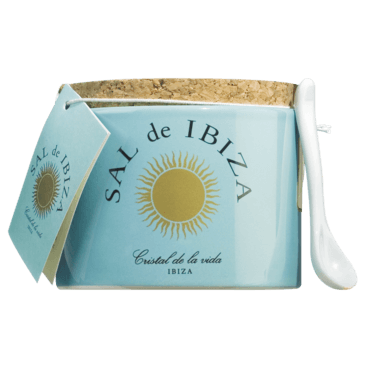 Fleur de Sel aus Ibiza im Keramiktöpfchen 150 g