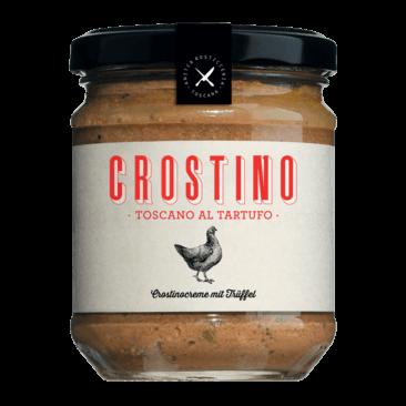 Crostinocreme mit Trüffeln, Antico Crostino Toscano al tartufo