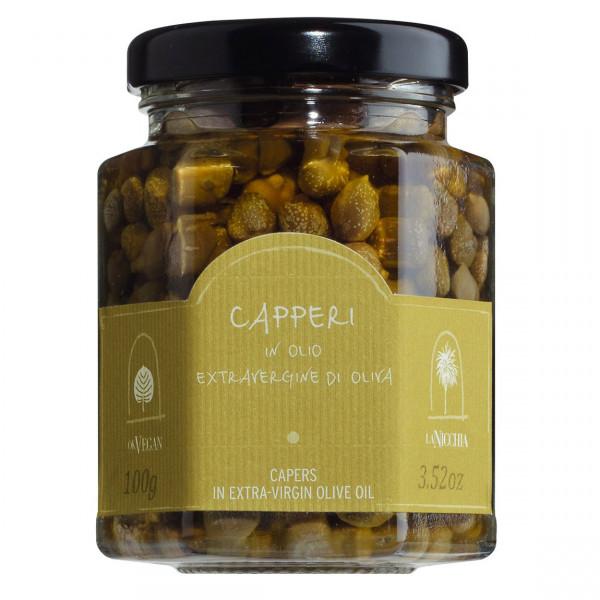 Kapern aus Pantelleria D.O.P. in nativem Olivenöl extra
