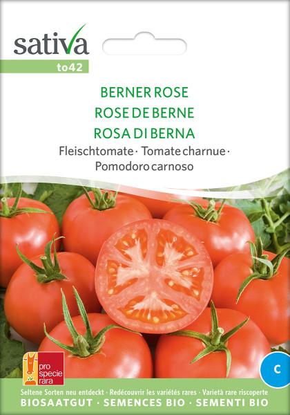 Tomate BERNER ROSE (demeter - Biosaatgut)