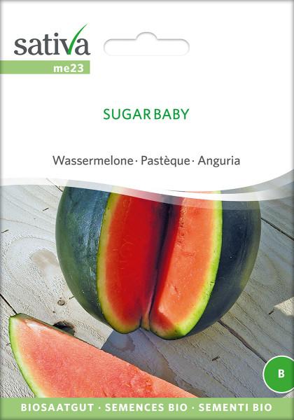 Wassermelone SUGAR BABY (Bio-Saatgut)