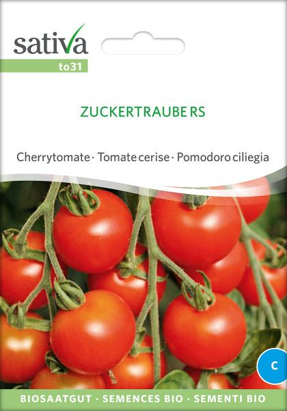 Cherrytomate ZUCKERTRAUBE (demeter-Biosaatgut)