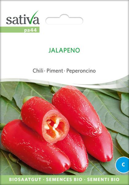 Chili, JALAPENO (Bio-Saatgut)