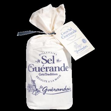 grobes Meersalz (ungewaschen, handgeschöpft) aus der Guérande g.g.A. 750 g