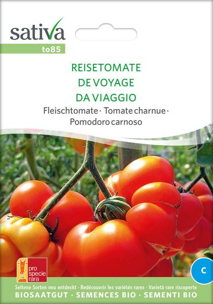Tomate REISETOMATE (demeter Sortenrarität/PSR)