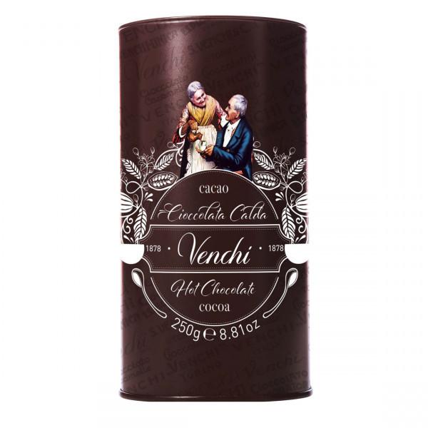 Kakaopulver von Venchi, Piemont für heiße Schokolade