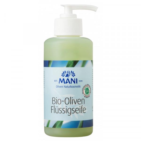 MANI Bio-Oliven Flüssigseife, 220 ml Spender