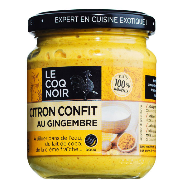 Citron confit, Zitronen-Ingwer-Gewürzpaste
